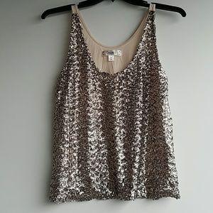 Decree | sparkly tank top